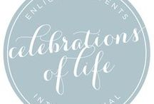 Celebrations of Life / Celebrations of Life is similar to an event planning and floral design company in that it offers budget assistance, vendor referrals, coordination, transportation, timelines, management, logistics, hotel blocks, floor plans, décor, and more. However Celebrations of Life focuses on planning and managing celebrations of life and funerals within a shortened timeline.