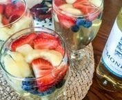 Hooray For The Red, White, & Blue / Today, and every day, we raise our glass to America! Let's celebrate with every inch of our soul, this and all July Fourth. Fill your glass with your favorite CK Mondavi wine and prepare for friends and family delicious recipes that will grant everyone a great time.