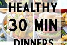 30-Minute Dinner Recipes / 30-minute dinner recipes you will love. Find more recipes at http://www.delishplan.com