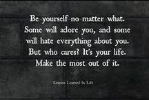 Quotes / Someone needs to remind us . / by Bibi Nurashida