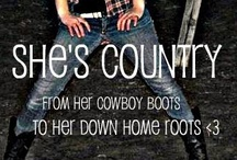 Country Girl / I'm a die-hard COUNTRY GIRL! I'm a girl who loves the country and being country... Pickup trucks, guitars, and cowboy boots...bonfires, huntin', fishin, and muddin'!!! Give me that rolling country backwoods!!!  / by Kathlynn Marie