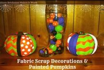 Festive fall, Halloween, and Thanksgiving ideas and creations!