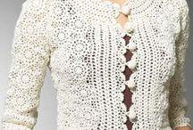 crocheting to wear