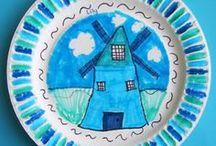 school thema: in holand staat een huis: bouwen/verhuizen