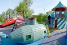 Playgrounds / Playgrounds, playrooms & playhouses. Beautiful ideas for kids' entertainment