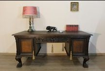 Biurko / Desk / Biurko przed i po renowacji / Desk before and after renovation