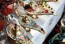 Arabian Nights / Histoire du troisième calender : décor Toutes histoires confondues