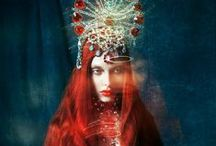 The Red Goddess / by Back to The Goddess