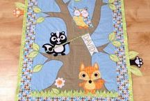 love colors - indigo project - baby quilts and beddins - nursery / handmade baby quilts, crib sets and nursery decor with applique, handmade softies, baby toys all made with love