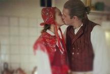 Swedish folklor / Folklor Dalarna Sweden