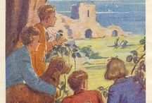 Enid Blyton's illustrators and illustrations / Examples of works by the many illustrators who worked on Enid Blyton's books.