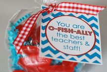 Volunteer Thank You Ideas / Gift ideas and printables: ways to say thanks