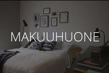 MAKUUHUONE / Makuuhuoneita muhkeasta minimalistiseen.