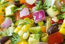 Yum - summer salads