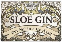 Sloe Gin Cocktails / Lots of lovely and delicious cocktails using Sloe Gin