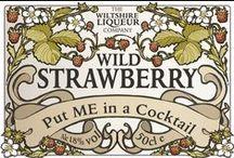 Strawberry Liqueur Cocktails