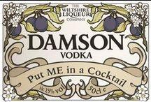 Damson Vodka Cocktails / Delicious Damson Vodka cocktails - from Wiltshire Liqueur and beyond