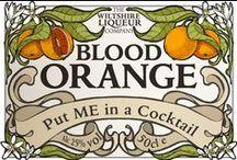 Blood Orange Liqueur Cocktails / Delicious Cocktails using Blood Orange Liqueur - from Wiltshire Liqueurs and beyond