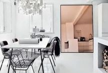 Decor: Living / Decor minimal boho clean white living room