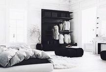 Decor: Bedroom / Decor minimal boho clean white bedroom