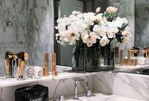 Decor: Bathroom / Decor minimal marble clean white bathroom