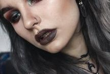 Alternative Beauty || Looks / Make up looks that inspire me usually rock or grunge