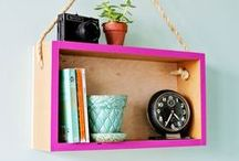 DIY Home Decor / Add a touch of elegance to your home with these easy to do projects.