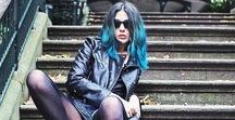 Alternative Style || Emma Inks / Sharing pictures of my alternative fashion, grunge style and blue hair