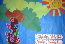 Classroom Decor / Kindergarten, Prep, classroom decor, bulletin board, posters, classroom displays