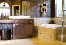 Bathroom Remodel Ideas / Bathroom remodeling ideas to inspire your next project. Whether you want something practical or something out of this world, these ideas can help you make your perfect bathroom a reality. For help remodeling your bathroom, check out http://www.bathroomremodel.com/