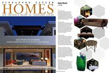 Press-review / Lifestyle and Interior design magazines around the world that talk about us.