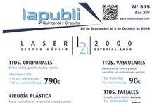 Portadas Revista lapubli / Todas las portadas de la revista lapubli desde Julio 2012.