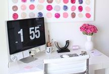 Office & Desk Inspo / Pretty offices, desks and work spaces.  / by Kayleigh Johnson