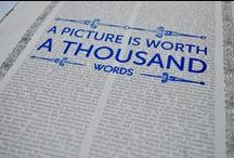 """a million words / """"A picture is worth a thousand words."""" Unknown"""