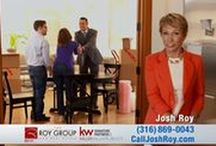 Real Estate with Josh Roy / If you're in the market to Buy/Sell a Home in Kansas, you will absolutely want to work with the Most Dynamic Realtor in town. Josh and his team of specialists will guide you through the entire process, and provide you will all the information you'll need to consider if you are thinking of Buying/Selling a Home.