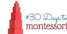 Montessori inspirace / Inpirace pro montessori aktivity #montessori  #šablony #děti #škola