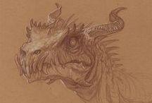 dinosaurs concept art