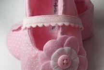 Sapatinhos de bebe / infantil - crochê