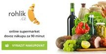 ONLINE POTRAVINY,DROGERIE / Online nákupy potravin a drogerie