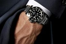 """Rolex Submariner Men's Sport Watch / One of the most popular Rolex sport watches, including the vintage collectible models, like the """"Red"""" Submariner.  Available in steel, 2-tone steel & gold, and 18k yellow gold. DeMesy sells pre-owned models that are in like-new condition for substantially less than the retail price."""