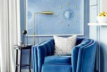BLUE/TURQUOISE/AQUA / BLUE/TURQUOISE/AQUA COLOUR, INTERIOR DESIGN,