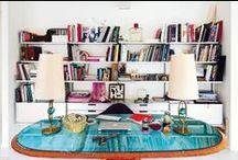 HOME OFFICE / STUDIO / WORKSPACE / HOME OFFICE DESIGN. DESK. HOME STUDIO, CREATIVE SPACES, NORDIC INTERIOR DESIGN, NORDIC HOME OFFICE,