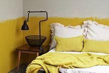 YELLOW / yellow interior design, yellow contemporary interiors, yellow home decor