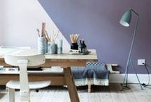 PURPLE  / Color: Purple and Lavenders, PURPLE INTERIORS,