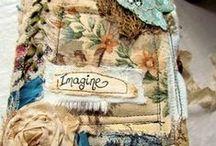 Fabric Books & Journals