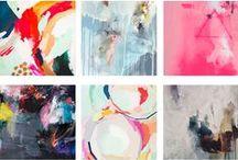ABSTRACT ART / ABSTRACT ART, WATERCOLOR, OILS, PASTELS, MODERN ART,