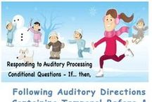 bookmarks - auditory processing