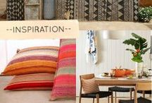 Canyon Road / A contemporary take on the deep-rooted culture of the American Southwest, this collection is filled with intricate woven, ikat, and worn textures, as well as a patchwork of structured geometrics and dynamic paisleys. A collection for the nomadic spirit, set off into the sunset on Canyon Road.