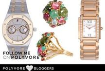 Polyvore / Peek at our new creations featuring our contemporary, vintage and unique luxury fine watches! Like and follow us on Polyvore!