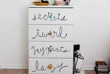 DIY  / HACKS / diy home decor, IKEA HACKS, DESIGN HACKS